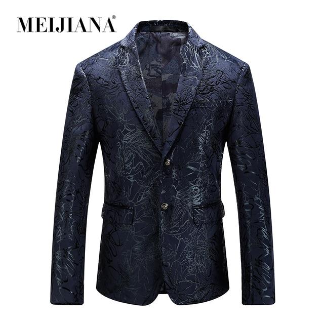 Meijiana Fashion Jacket Men Suits/ Tuxedos/Formal Wear color: Black