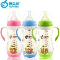 Устойчивость к падению PPSU Baby Feeding Bottle 300 ml Bring Handle width Opening Baby Feeding Bottle Oem