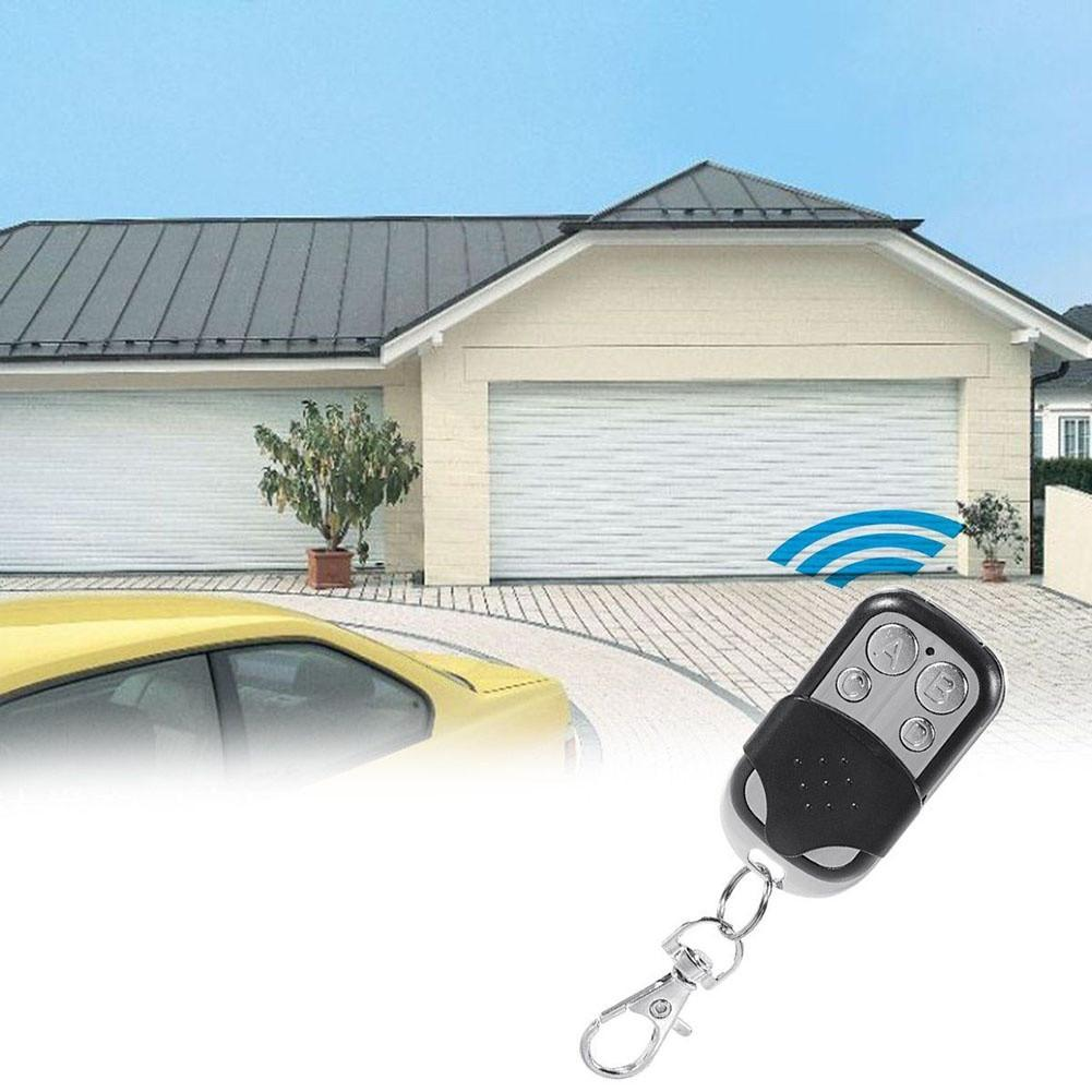 Image 3 - New Remote Control 433mhz Electric Cloning 4 Channel Universal Copy Code Gate Garage Door Opener Key RF Fob Universal-in Remote Controls from Consumer Electronics
