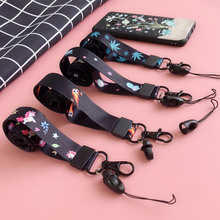 CASEIER Mobile Phone Straps Lanyard For iPhone Strap Nylon Cute Samsung Xiaomi Huawei Keys
