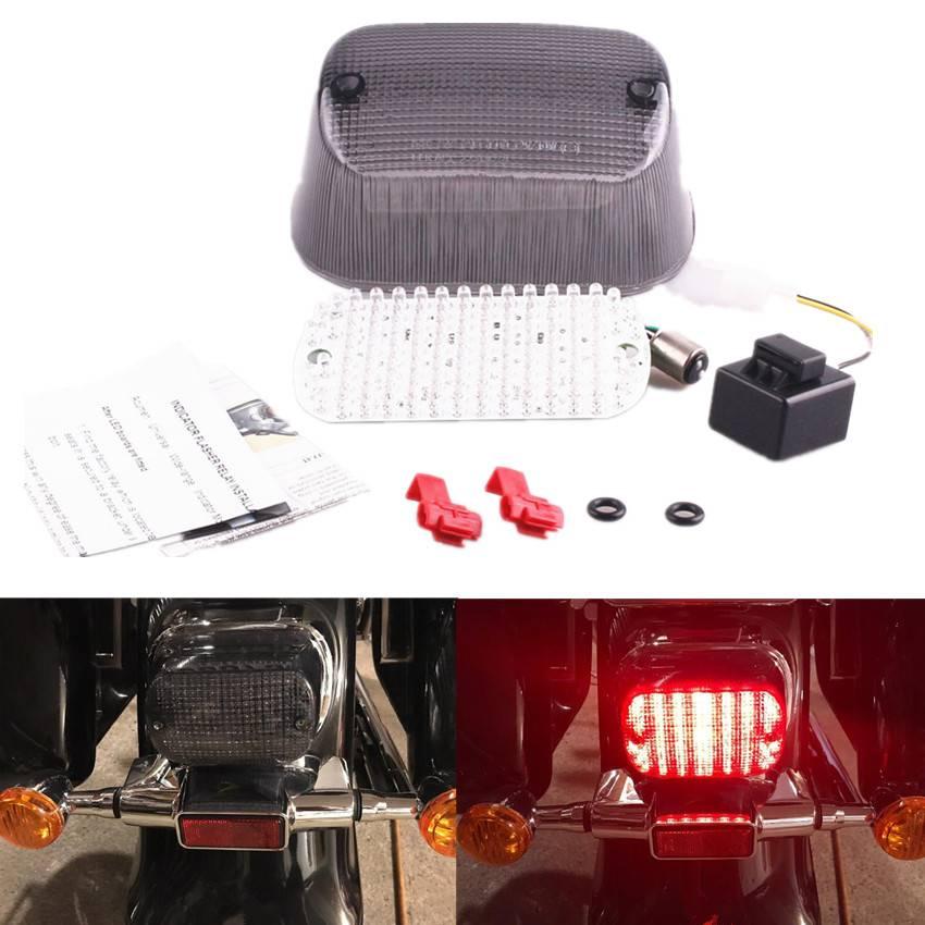 4x 12LED Front Rear Turn Signal Light For Suzuki Intruder VS 700 750 800 1400