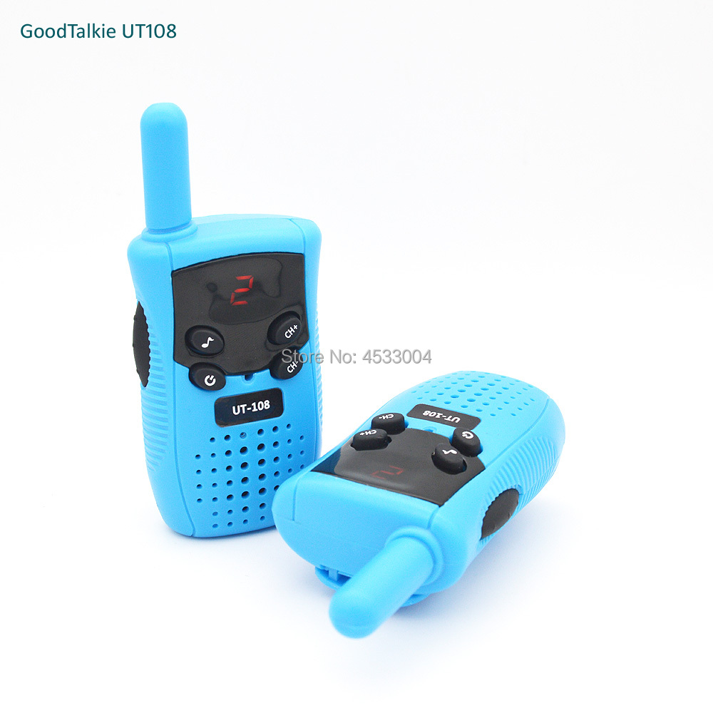 2pcs GoodTalkie UT108 Mini Walkie Talkie Kids Toy Two Way Radio UHF Frequency Portable Ham Radio-in Walkie Talkie from Cellphones & Telecommunications