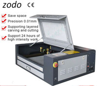 4060 Ruida 60w mini laser engraving machine for rubber/paper/wood/acrylic