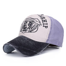 21a802d8495 Cotton printing Letter Baseball Cap for men Snapback Caps Bone casquette Hat  Distressed Wearing Fitted Hat For women Custom Hats