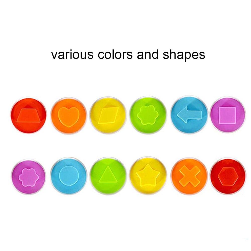 6 Pack Smart Pairings Eggs Shape For Children Baby Blocks Educational Toys New