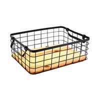 Wrought Iron Storage Basket Nordic Style Living Room Desktop Coffee Table Sundries Storage Basket Kitchen Dish Bowl Drain Rack