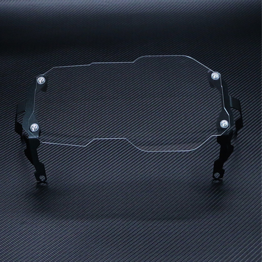 Headlight Protector Guard Lens Cover for <font><b>BMW</b></font> <font><b>R1200GS</b></font> <font><b>Adventure</b></font> <font><b>2013</b></font> - <font><b>2018</b></font> Water Cooled Models Transparent image