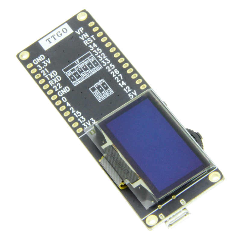Image 2 - Ttgo T Eight Esp32 Sh1106 1.3 Inch Oled Display Ipex 3D Antenna 4Mb Spi Flash Psram Packet Monitor LED indicator-in Circuits from Consumer Electronics