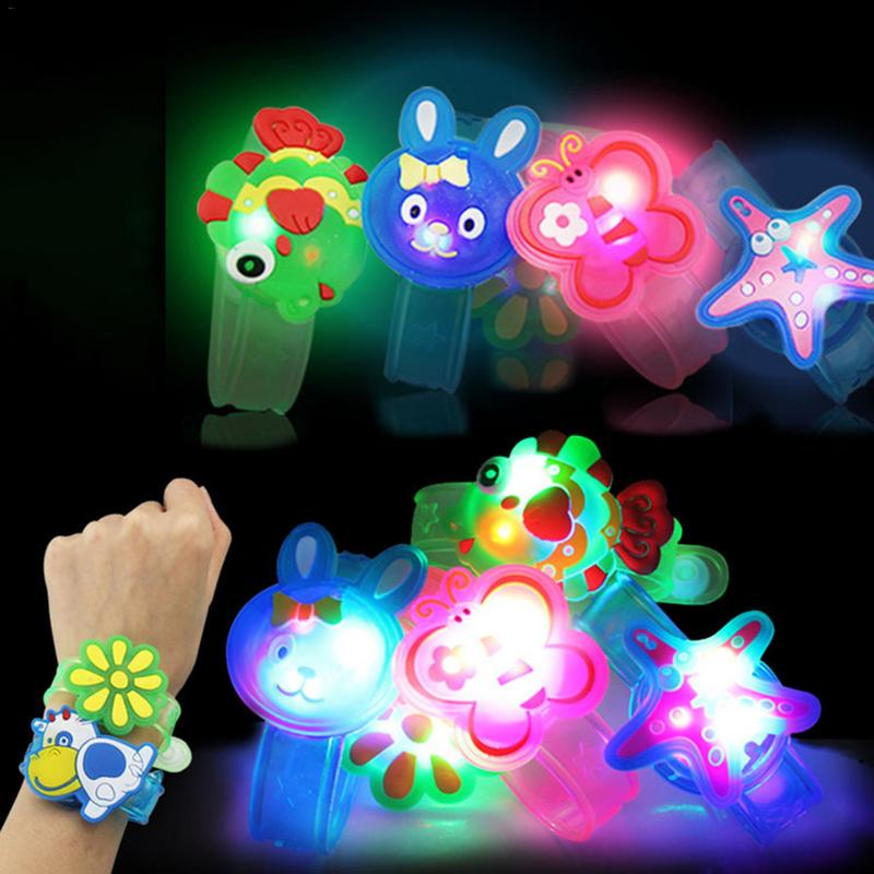 Baby Kids Light-up Toy Creative Light Flash Toys Wrist Hand Take Dance Party Dinner Party Stress Relief Toy Funny Kids Gift