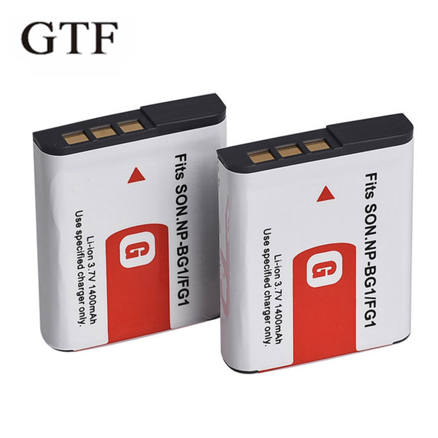 GTF NP-BG1 NP BG1 Camera Battery 1400mAh 3.7 V Camera Digital Battery For Sony Cyber-shot DSC-H7 DSC-H9 DSC-H10 DSC-H20 DSC-H50