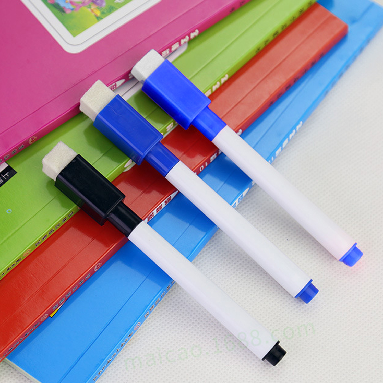 10PCS Kids Erasable Magnetic Whiteboard Pen Rewritable Dry Erase White Board Markers Pens For Home Office School Stationery