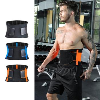 Waist Support Trimmer Fitness Belt Waist Training Tight Unisex Sports Weight Loss Burn Shaping Gym Fitness Belt For Men Women strength training