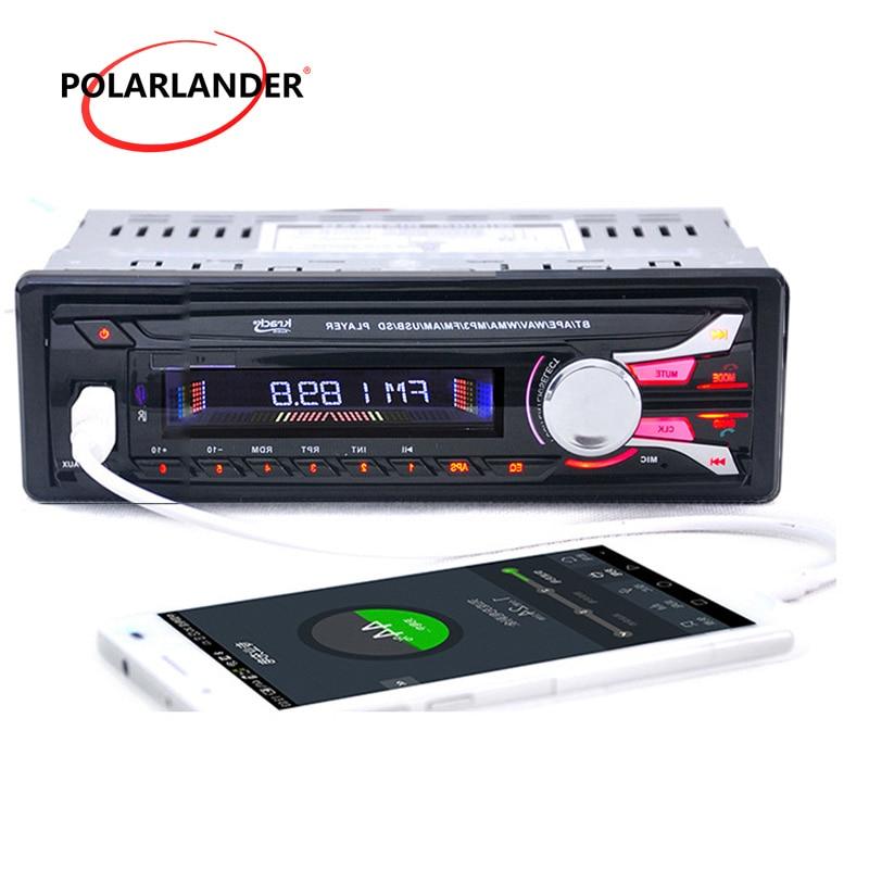 Autoradio 1 din bluetooth Autoradio FM USB SD AUX dans lecteur MP3 panneau avant amovible audio stéréo Radio lecteur cassette