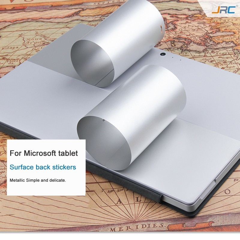 Laptop Skin Shell Protect Sticker For Microsoft Surface 3 Pro3/4/5 Skin Film Fuselage Protect Film Suit Hard Metal Texture Film