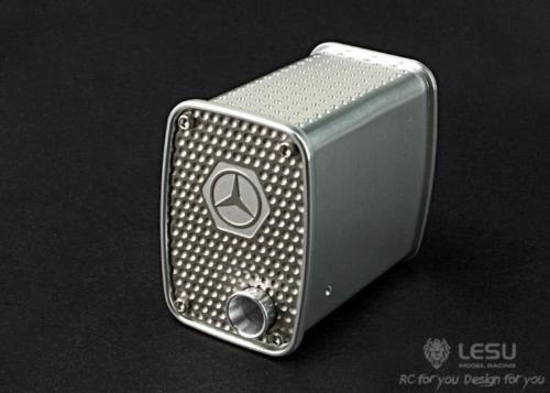 Lesu 공기 배출 금속 상자 b 1/14 tmy bz rc 트랙터 트럭 자동차 모델 th02325-에서부품 & 액세서리부터 완구 & 취미 의  그룹 1