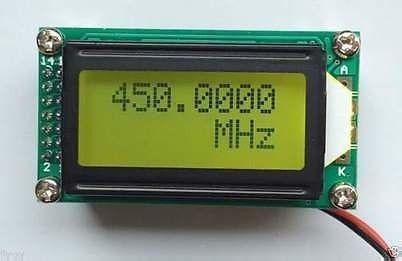 1MHz To 1200 MHz RF Frequency Counter Tester METER Digital LCD METER FOR Ham Radio Amplifier