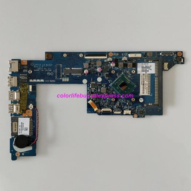 Véritable 755724 501 755724 001 UMA w N3520 CPU ZPT10 LA B151P Ordinateur Portable carte mère pour hp 11 N Série 11T N000 X360 Portable PC