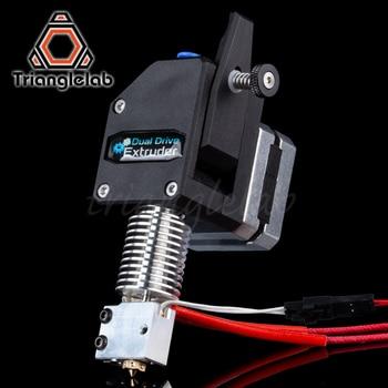 Trianglelab BMG экструдер вулкан HOTEND MK8 Bowden экструдер двойной привод экструдер для 3d принтера высокая производительность для I3 printe