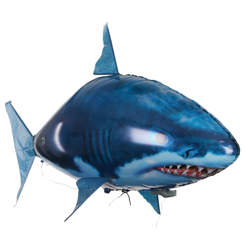 Presale 150cm Jumbo Inflatable Balloon Air Swimming Flying RC Fish Electric Ocean Fish For Children Kids Gifts Party Decoration