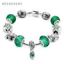 Beerosery подвеска Бохо австрийский Кристальный браслет браслеты