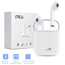 I7s-tws Mini Wireless Bluetooth Earphones Stereo Headphones Headset Sports In-ear Earbuds With Microphone For All Phones все цены