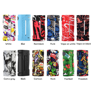 Vapor Storm ECO Electronic Cigarette Mod Max 90W Graffiti Vape Without 18650 Box Mod for RDA RTA Sub Ohm Atomizer Camo Cartoon