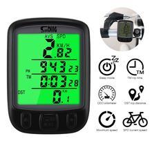Беспроводной компьютер магнитный индикатор пробега батарея питание портативный для Велоспорт в реальном времени скорость и расстояние трек
