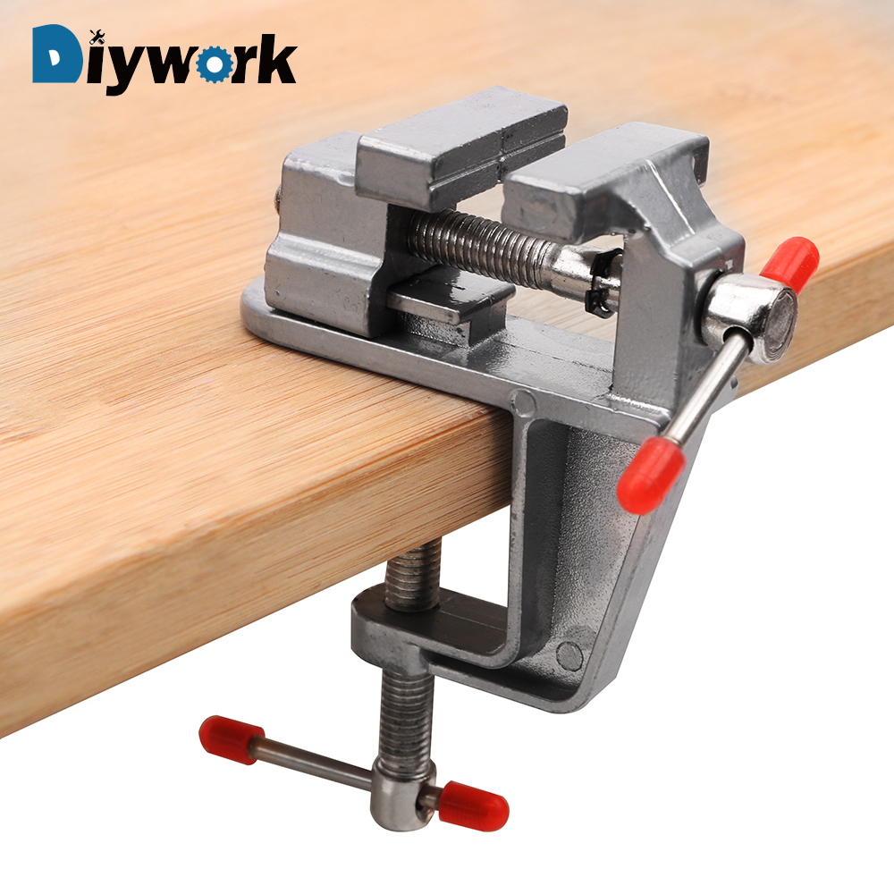 DIYWORK Flat Table Vise Pliers Toggle Clamp Workbench Vise Quick Positioning Fixture Screw Type 30MM Maximum Opening