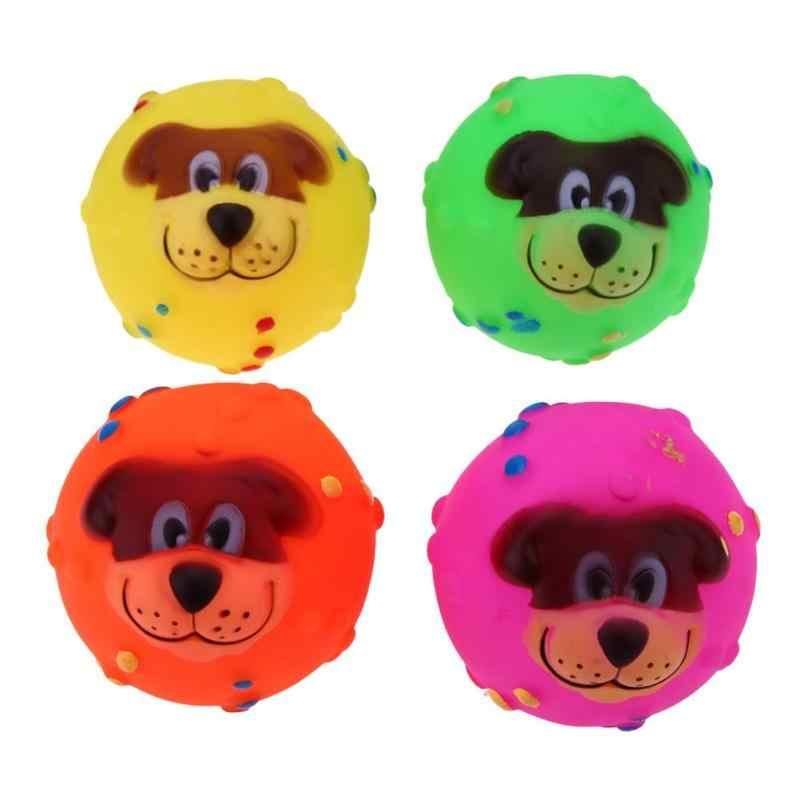 ยาง Squeak ของเล่นสำหรับสุนัขกรีดร้องไก่ Chew ของเล่น petstyle fafa อุปกรณ์ Pet Puppy Cat ไวนิล Ball Dog Toy