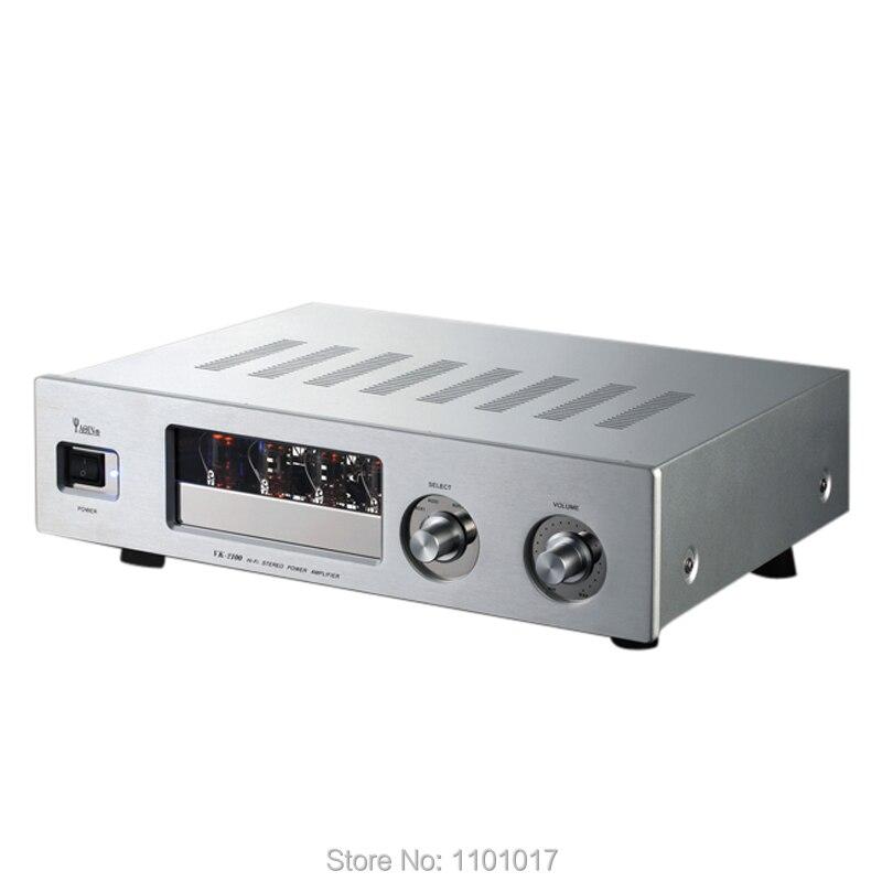 YAQIN VK-2100 Hybrid Tubo Amplificatore HIFI EXQUIS AMPLIFICATORE SRPP circuito lampada amp
