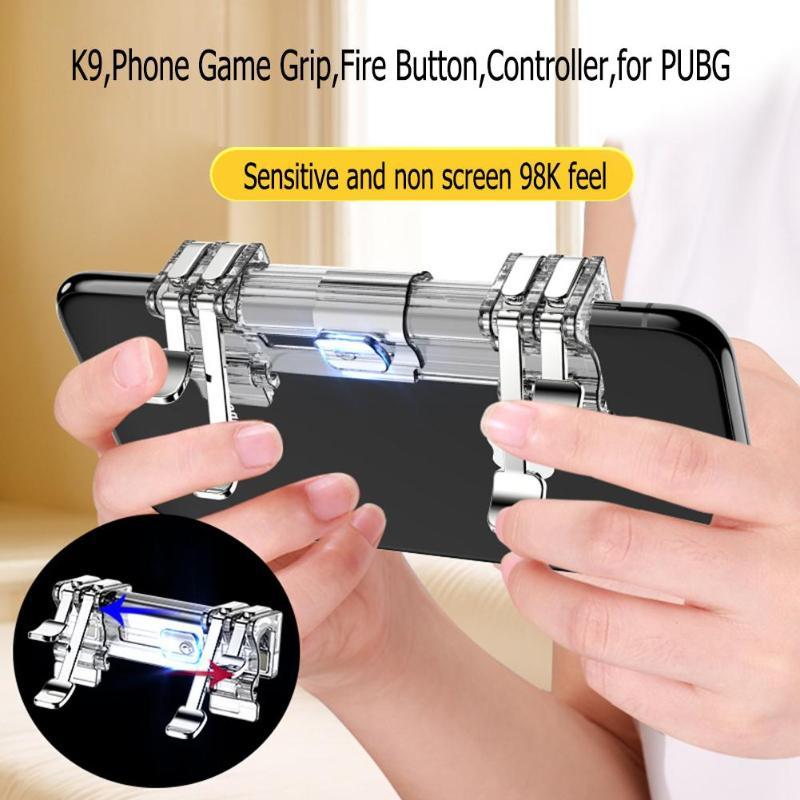 VODOOL K9 Mobile Phone Game Joystick Gamepad Fire T