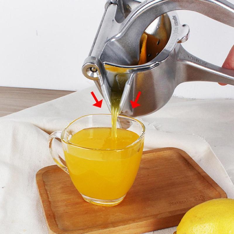 DIY Fruit Juicer Manual Aluminium Alloy Mini Citrus Juicer Orange Lemon Fruit Squeezer Grinder Fresh Juice Tool Kitchen Gadget