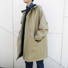 Großhandel korean men trench coat Gallery Billig kaufen