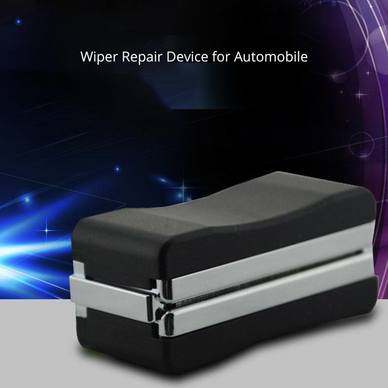 Universel Auto voiture véhicule pare-brise lame d'essuie-glace remise à neuf outil de réparation restaurateur pare-brise Kit de réparation de rayures nettoyant