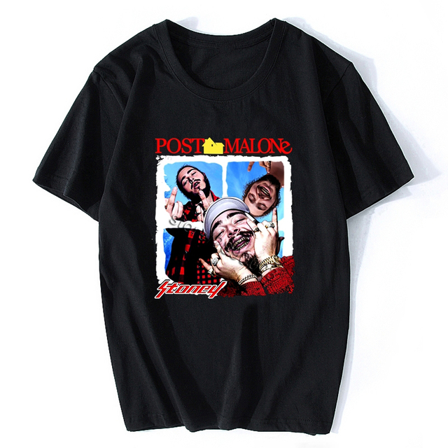 POST MALONE LEAVE ME FUNNY T-SHIRT (3 VARIAN)