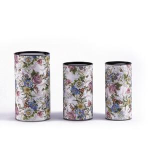 Image 3 - Xin Jia Yi Embalagem Caixa de Papel Forma Redonda Hot Sale Presente Caixa de Gaveta de Papel Colorido Papel Da Folha de Alumínio de Qualidade Alimentar caixa
