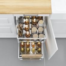 Dish Drainer Cestas Organizar Organisadores Para Armario De Cosina Organizer Stainless Steel Rack Cuisine Kitchen Cabinet Basket