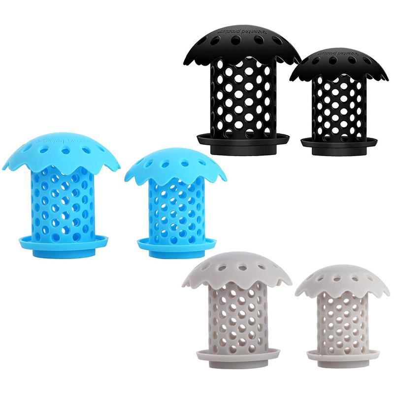 Drain Strainer Silica Gel Bathtub Sink Drain Hair Catcher Protector Snare Prevents Hair From Clogging Drains Strainer Durable Ba