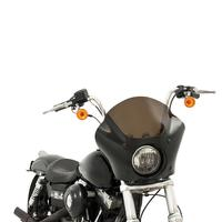 Motorcycle Round Headlight Cafe Racer Handlebar Accessories Harley Shroud 883 Xl1200 X48 Sports Car Modified Large Hood Fairing