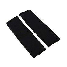 LGFM-Kevlar Sleeve Armguard Forearm Sagittarius Anti-Cut Burn Resistant Arm Sleeve-1 Pair Black