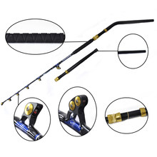 "OLOEY BlueSpear 130lbs Trolling Rod 6'6 ""Goede Service Vissen Big Game Trolling Staaf(China)"