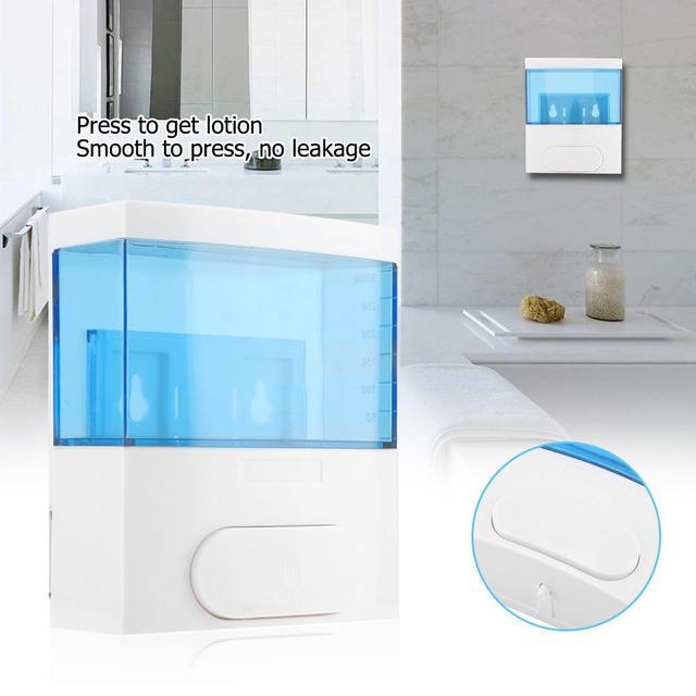 300 ml ידני נוזל סבון Dispenser קיר רכוב שמפו Sanitizer מיכל Dispensador עבור מטבח אמבטיה יד כביסה