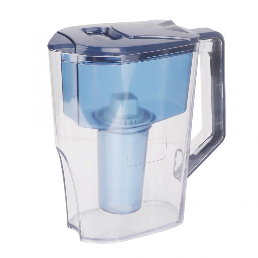 2.5L 3 Stage Portable Alkaline Water Pitcher Water Filter Purifier Filtration Jug Kettle Tool2.5L 3 Stage Portable Alkaline Water Pitcher Water Filter Purifier Filtration Jug Kettle Tool