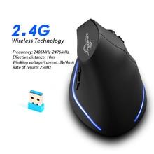 Souris F 35 sans fil souris verticale ergonomique Rechargeable 2400 DPI en option souris de jeu Portable pour ordinateur Portable Mac