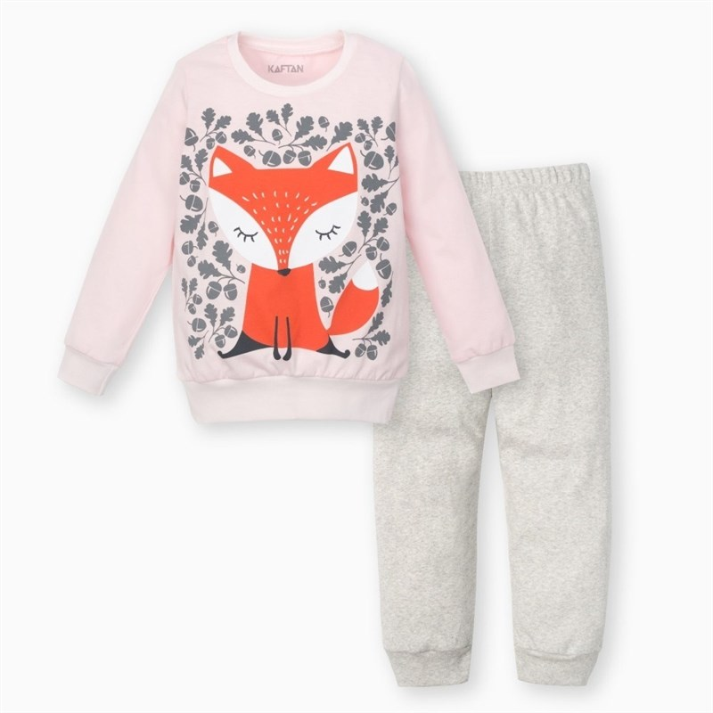 Suit children's KAFTAN: cardigan and pants Chanterelle 3 6 years