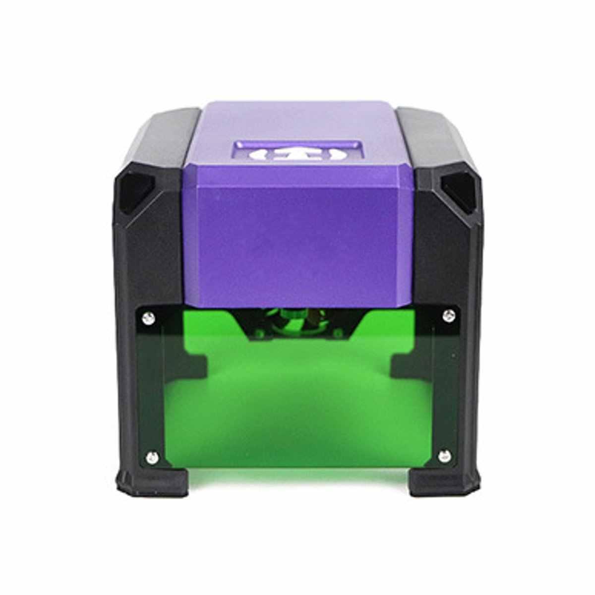 Upgrade Bluetooth Mini 3000MW Paars CNC Laser Graveermachine AC 110-220V DIY Graveur Desktop Hout Router /snijder/Printer