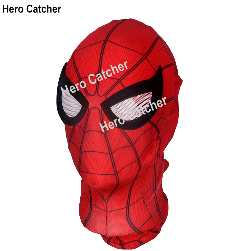 Hero Catcher Top Quality Rubber Logo FFH Spider Man Costume With Details Far From Home Spiderman Suit For Party 2019 Spiderman