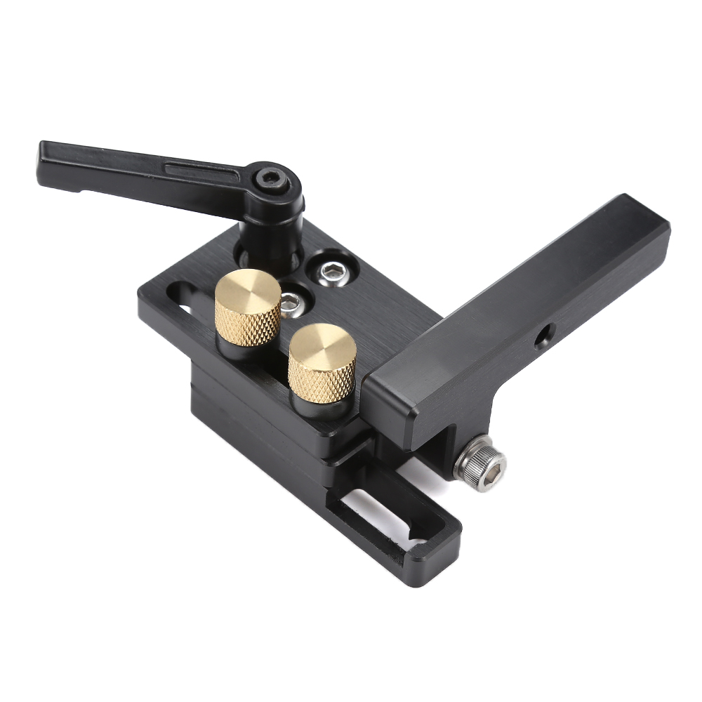 NE Miter Track Stop Woodworking DIY Tool Track Limit For T-Slot T-Tracks Stop Chute Limiter Locator Woodworking DIY Manual