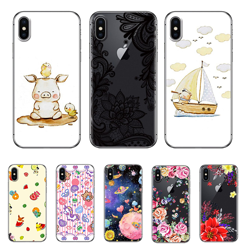 Cartoon Series Phone Case for Asus Zenfone GO MAX AR LIVE 4 Selfie Pro ZE552KL ZB500KL ZB551KL ZS571KL ZB501KL Soft Case