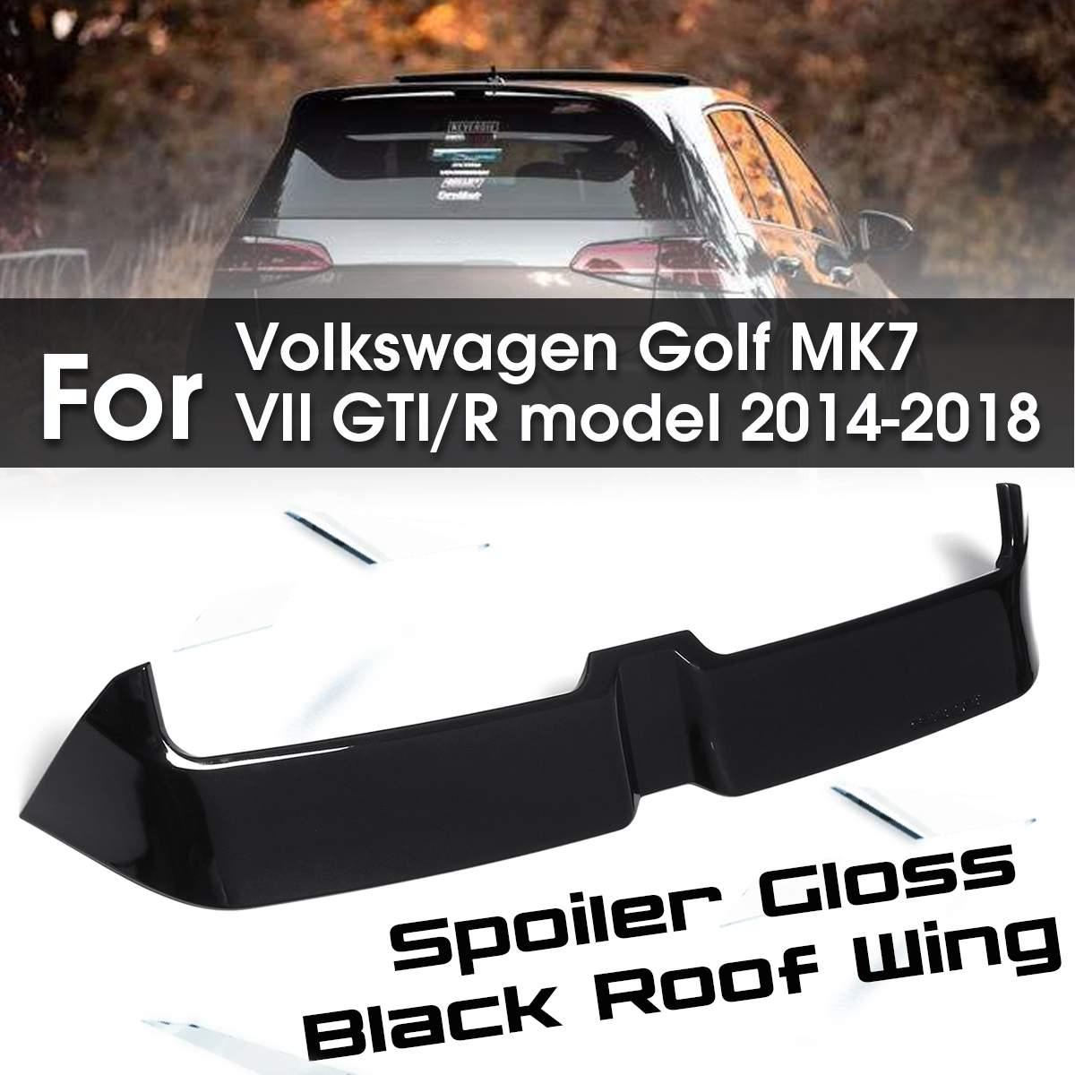 for MK7 Car-styling Carbon Fiber / ABS Gloss Black Rear Wing Spoiler for Volkswagen MK7 VII O Style Golf 7 GTI Rfor MK7 Car-styling Carbon Fiber / ABS Gloss Black Rear Wing Spoiler for Volkswagen MK7 VII O Style Golf 7 GTI R